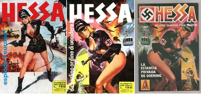 Nazisploitation 06-Fumetti