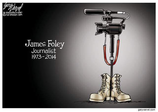 À propos d'un dessin en hommage à James Foley