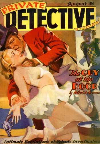 Private Detective Stories, August 1939