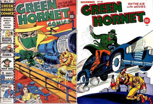 Green Hornet Comics #v2#7, June 1942 / Green Hornet Comics #10, December 1942