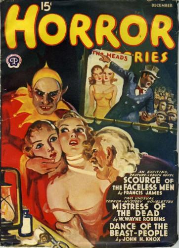 Horror Stories, December 1940