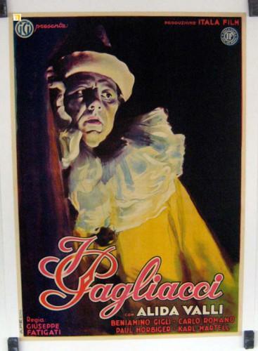Affiche du film I pagliacci, Giuseppe Fatigati, 1943