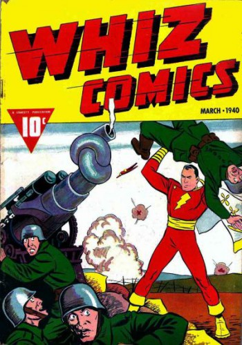 Whiz Comics #3, Captain Marvel, March 1940