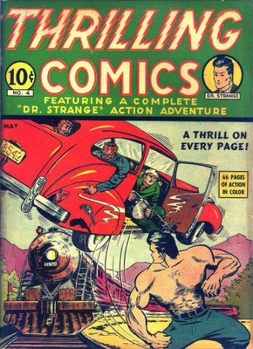 Thrilling Comics #v2#1 (4), Dr. Strange, May 1940
