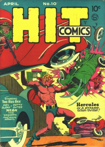 Hit Comics #10, Joe Hercules, April 1941