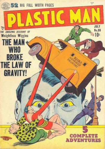 Plastic Man #30, July 1951