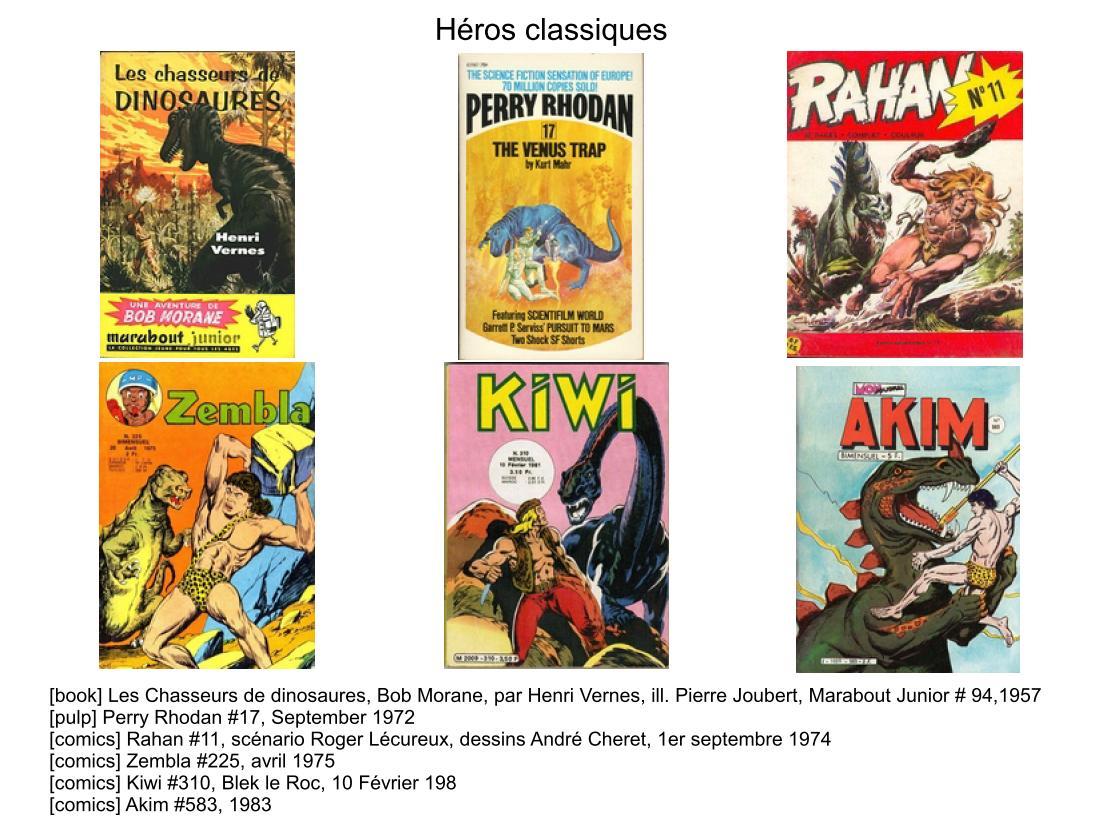 Limagerie Des Dinosaures Dans Les Pulp Magazines Et Comics