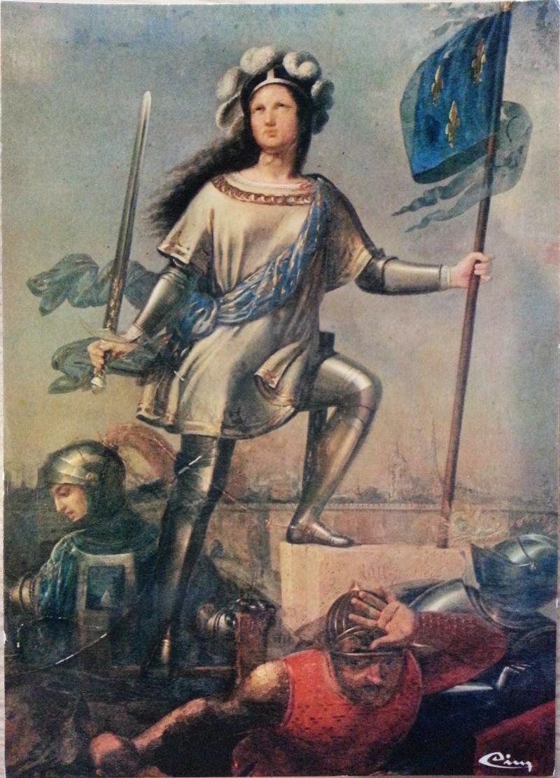 Jeanne d'Arc à l'assaut du Fort des Tourelles, Jean-Louis-César Lair, 1808, mairie de Janville, Eure-et-Loir